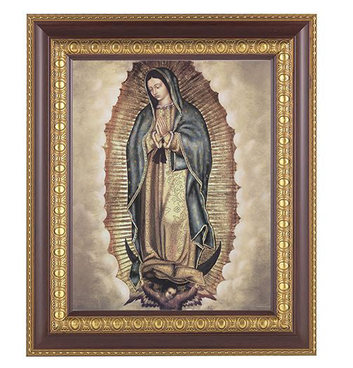 Our Lady Of Guadalupe In Cherry Frame 10.25X12.25-inch 8X10Prt