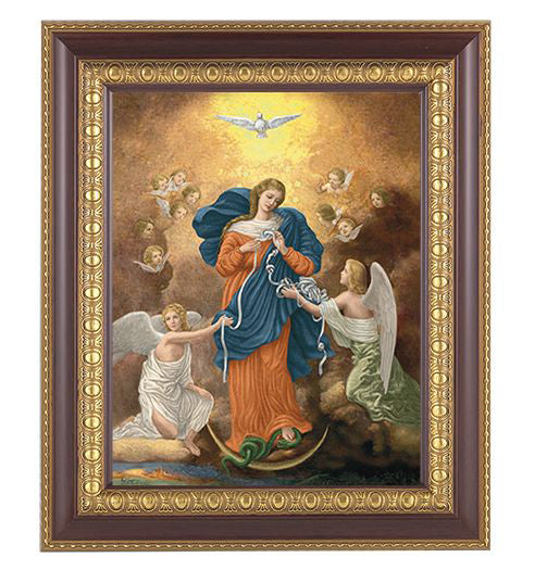 Our Lady Untier Of Knots Cherr Y Frame 10.25X12.25-inch 8X10 Print