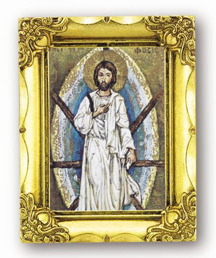 The Transfiguration 4.5-inchX3.5-inch Antique Gold Frame