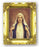 Immaculate Heart Mary 4.5-inchX3.5-inch Antique Gold Frame