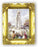 Our Lady Of Fatima 4.5-inchX3.5-inchAnt Gold Frame