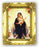 Queen Of Angels 4.5-inchX3.5-inch Antique Gold Frame