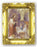 Communion Boy and Girl 4.5-inchX3.5-inch Antique Gold Frame