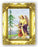 Guardian Angel 4.5-inchX3.5-inch Antique Gold Frame