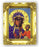 Our Lady Czestochowa 4.5-inchX3.5-inch Antique Gold Frame