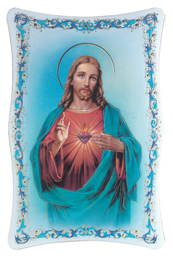 10-inchX15-inch Sacred Heart Of Jesus Plaque