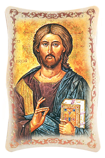 10-inchX15-inch Christ All Knowing Plaque
