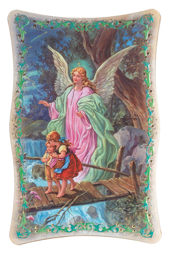 10-inchX15-inch Guardian Angel Plaque