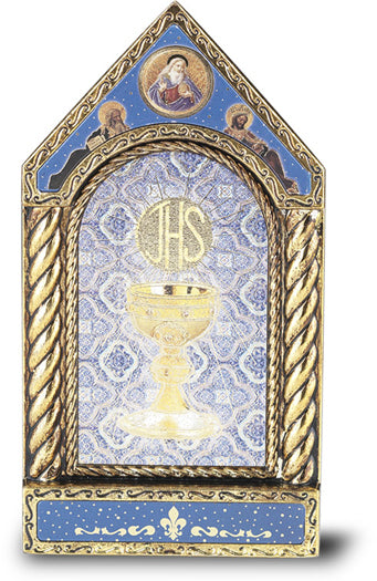 First Communion Gold Leaf Shrine