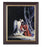 Christ With Angel In Walnut Frame 10.25X12.25-inch 8X10 Print