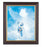 Christ Welcoming Child Walnut Frame 10.25X12.25-inch 8X10 Print