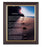 Footprints In Walnut Frame 10.25X12.25-inch 8X10 Print