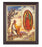 Our Lady Of Guadalupe with Juan Diego Walnut Frame 10.25X12.25-inch 8X10Prt