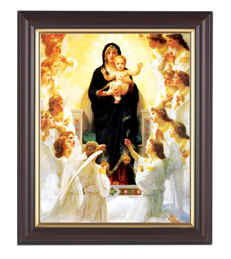 Bouguereau: Queen Of The Angels Walnut Frame 10.25X12.25-inch 8X10Prt