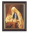 Chambers: Madonna and Child Walnut Frame 10.25X12.25-inch 8X10Prt