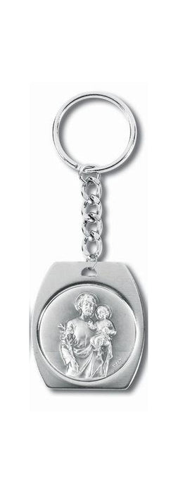St Joseph Medal On Split Ring 3-Pack