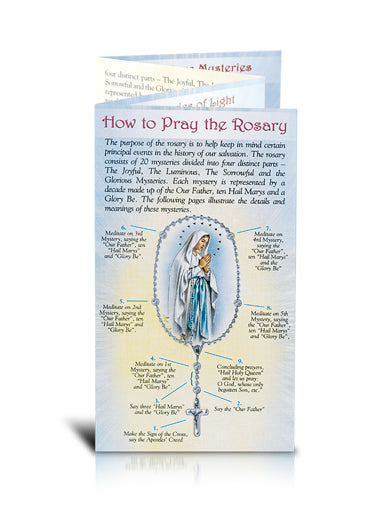 10-Pack - Mysteries Of The Rosary Folder