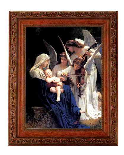 Bouguereau Heavenly Melodie In Ornate Wood Frame 10X12-inch 8X10 Print