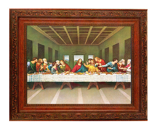 The Holy Family In Ornate Wood Frame 10X12-inch 8X10 Print
