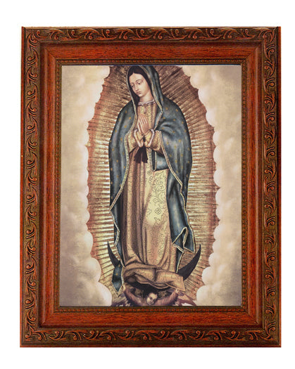 Our Lady Of Guadalupe In Ornate Wood Frame 10X12-inch 8X10 Print