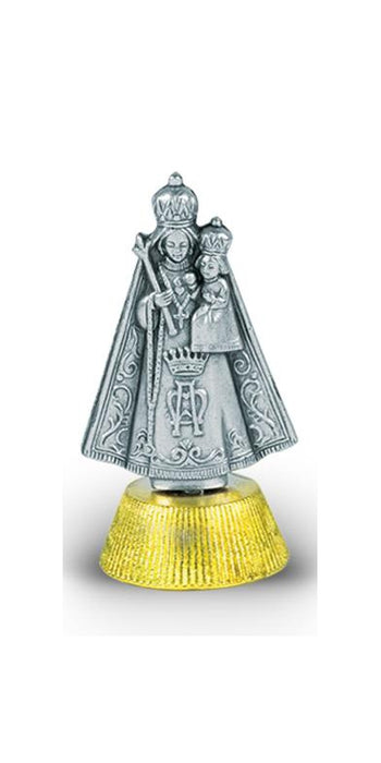 Our Lady Of Caridad De Cobre 2 1/2-inch Car Statue 3-Pack