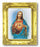 Shj 3-inchX2-inch Antique Gold Frame with Gold Stmpd Italian Art