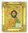 Christ The Teacher Antique Gold Frame with Gold Stmpd Italian Art