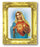 Ihm 3-inchX2-inch Antique Gold Frame with Gold Stmpd Italian Art