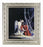 Christ With Angel In Ornate Silver Frame 10X12 8X10 Print