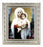 Bouguereau: Madonna and Child Silver Frame 10X12-inch 8X10 Print