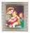 Raphaels-Madonna and Child Ornate Silver Frame 10X12-inch 8X10 Print