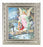 Guardian Angel In Ornate Silver Frame 10X12-inch 8X10 Print