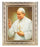 Saint John Paul II In Ornate Silver Frame 10X12-inch 8X10 Print