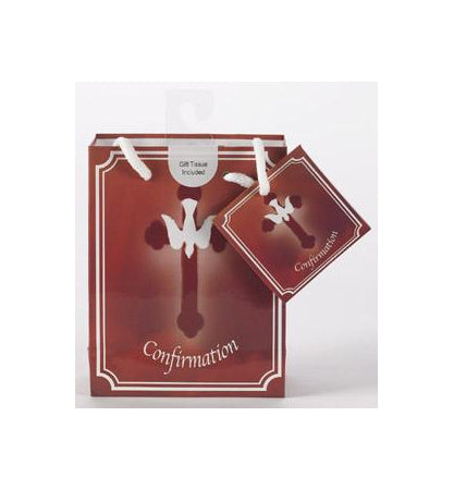 12-Pack - Small Confirmation Gift Bag with Gift Tissue