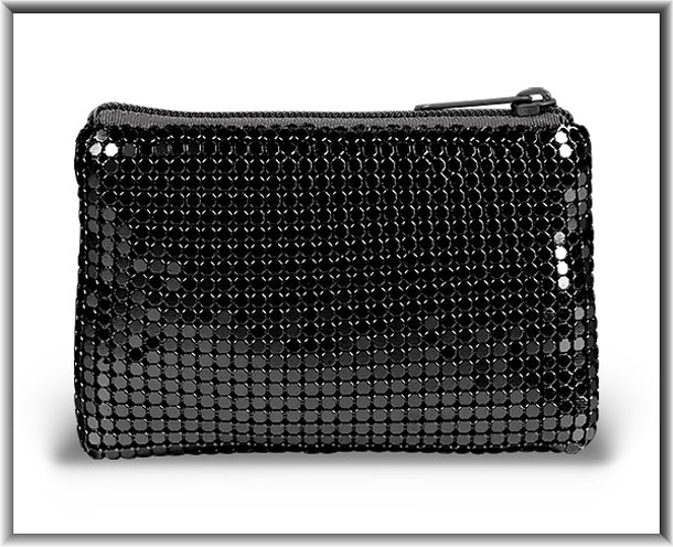 Black Mesh Rosary Case