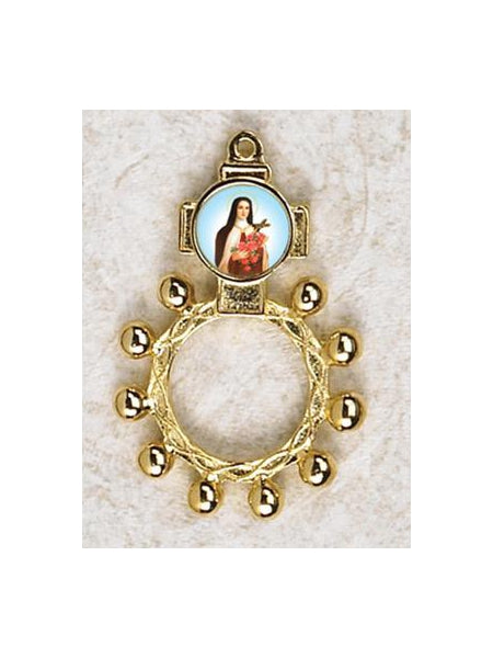 12-Pack - Saint Therese Finger Rosary