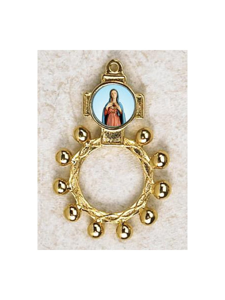 12-Pack - Immaculate Heart of Mary Finger Rosary