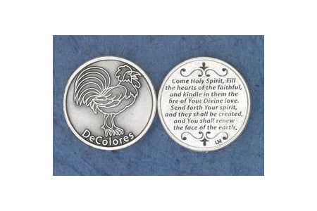 25-Pack - Religious Coin Token - Decolores