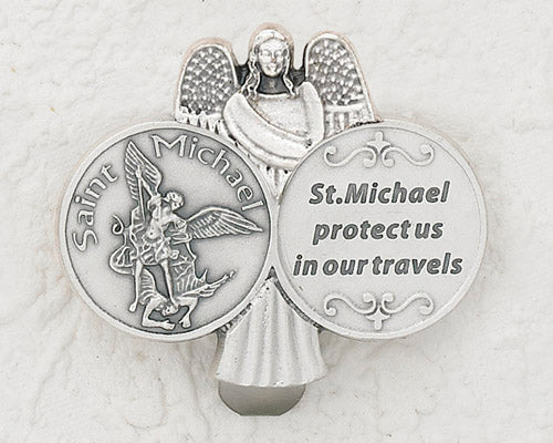 3-Pack - CAR VISOR- Saint Michael with Angel