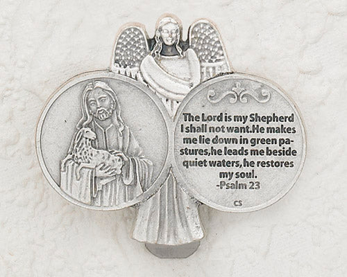 3-Pack - Psalm 23 with the Good Shepherd Visor Clip