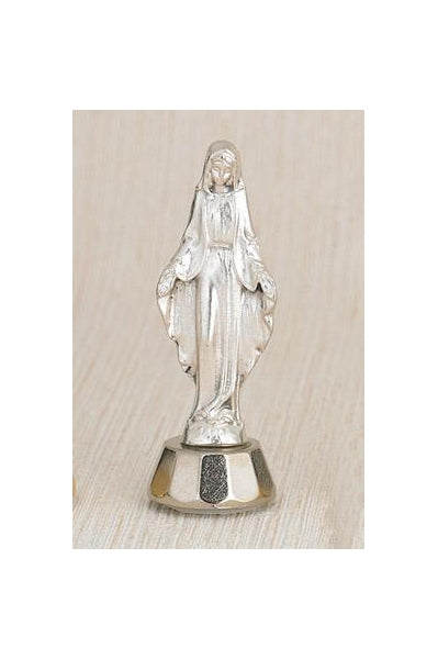 6-Pack - Adhesive Lady of Grace Car Statuette