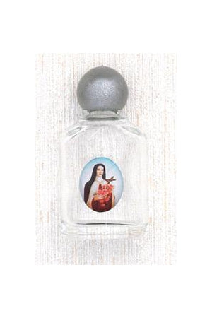 12-Pack - Saint Therese Holy Water Bottle