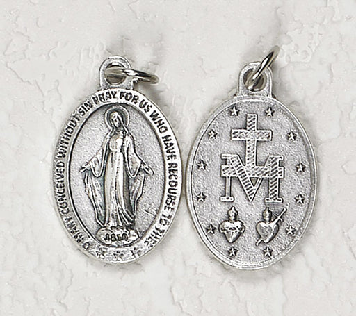 Miraculous Medal (Premium) Double-Sided Medal - Pack of 25