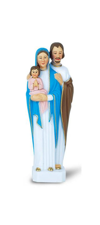 6-inch Holy Family Plastic Statue