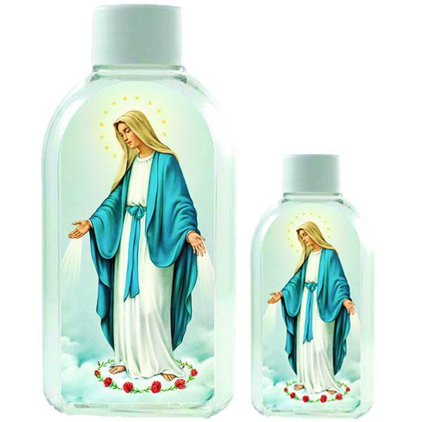 Small Plastic Holy Water Bottle - Lady of Grace