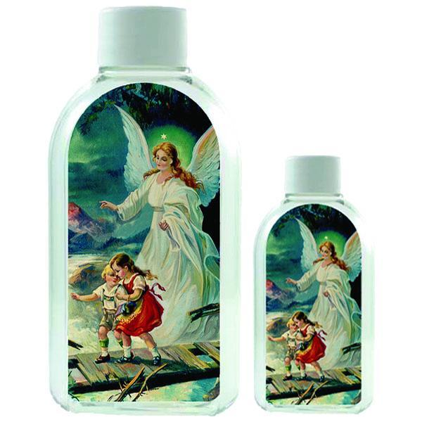 Large Plastic Holy Water Bottle - Guardian Angel