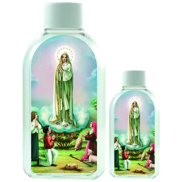 Large Plastic Holy Water Bottle - Lady of Fatima