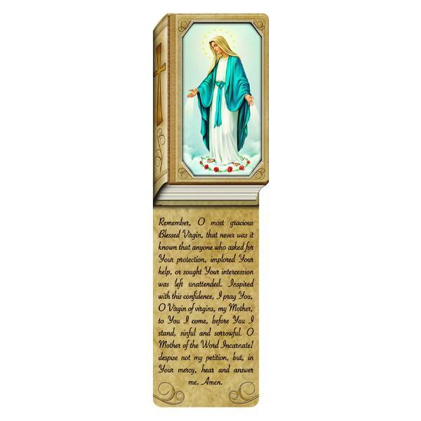 Book Shaped Laminated Bookmarks - Our Lady of Grace