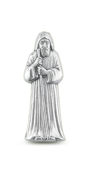 10-Pack - Saint Benedict Pocket Statue