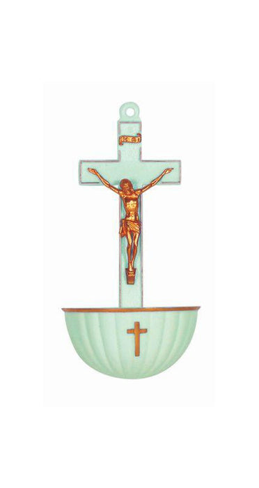 Luminious Crucifix Holy Water Font Min. 3 3-Pack
